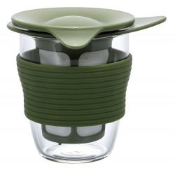HANDY TEA MAKER OLIVE GREEN 200ml