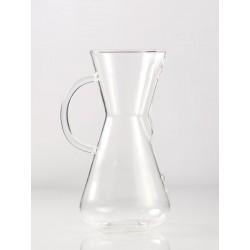 CHEMEX 3 CUPS GLASS HANDLE