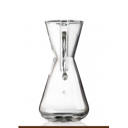 CHEMEX 3 CUPS GLASS HANDLE