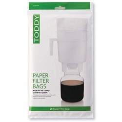 COLD BREW SYSTEM- PAPER FILTER BAGS (THMPF20)