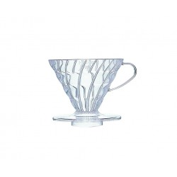 COFFEE DRIPPER V60 02 TRANSPARENT