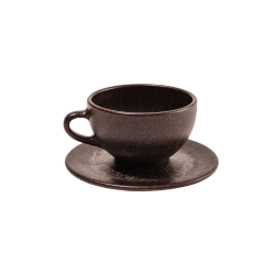 KAFFEEFORM CUP/SAUCER FOR LATTE/CHOCOLATE