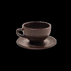 KAFFEEFORM CUP/SAUCER FOR LATTE/CHOCOLATE